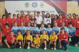 Chuyên gia Desislava Bogusheva hỗ trợ Thể dục Việt Nam