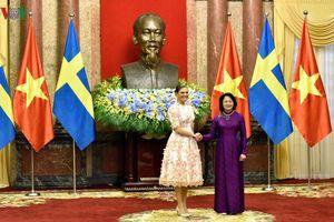 Phó Chủ tịch nước hội đàm với Công chúa kế vị Thụy Điển