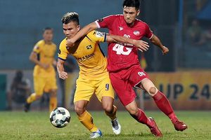 Hà Nội FC hòa may mắn, Hoàng Anh Gia Lai thắng thuyết phục