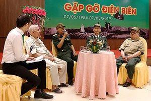 Gặp gỡ cựu chiến binh tham gia chiến dịch Điện Biên Phủ