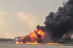 Máy bay Sukhoi Superjet 100 bốc cháy ở Nga có gì đặc biệt?