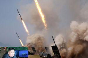 Triều Tiên tập trận với vũ khí chiến thuật mới