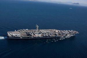 Tàu sân bay, oanh tạc cơ Mỹ đến Trung Đông để đối phó Iran