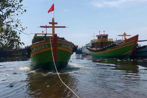 Ngư dân trẻ hạ thủy đôi tàu đặc biệt, hoạt động ở ngư trường Hoàng Sa