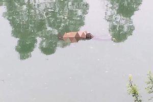 Kinh hoàng phát hiện thi thể nam giới nổi trên sông Thương