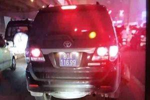 Lái xe biển xanh 80A gây tai nạn rồi bỏ chạy là thượng sỹ công an