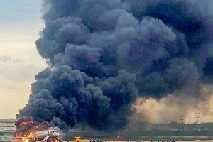Cháy máy bay tại Nga: Không có nạn nhân người Việt, 41 người tử vong