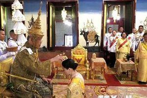 Lễ rước kiệu tân vương Thái Lan Maha Vajiralongkorn