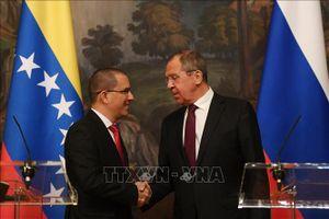 Ngoại trưởng Nga nêu sáng kiến giải quyết tình hình ở Venezuela