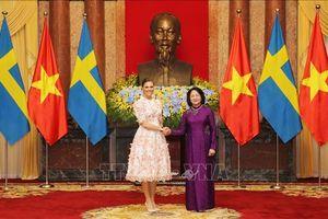 Việt Nam coi trọng thúc đẩy quan hệ hữu nghị truyền thống với Thụy Điển