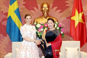 Chủ tịch Quốc hội Nguyễn Thị Kim Ngân tiếp Công chúa kế vị Thụy Điển