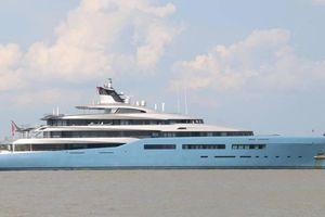Bất ngờ siêu du thuyền Aviva của tỷ phú người Anh xuất hiện ở Cần Thơ