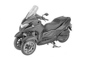 Xe tay ga 3 bánh Yamaha 3CT sắp có mặt ngoài showroom