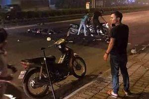 Đại úy cảnh sát cơ động bị xe máy chở 3 thanh niên không đội mũ bảo hiểm tông tử vong khi làm nhiệm vụ