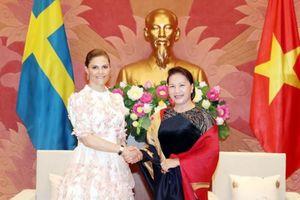 Công chúa kế vị Thụy Điển thăm Việt Nam thúc đẩy hợp tác kinh doanh