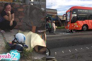 Người mẹ khóc cạn nước mắt, đau xót nhìn đứa con 8 tuổi chết thảm dưới bánh xe khách