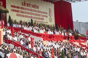 Mít tinh kỷ niệm 65 năm Chiến thắng Điện Biên Phủ
