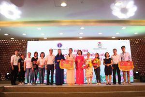 Bệnh viện C Đà Nẵng đoạt giải nhất Hội thi An toàn vệ sinh viên giỏi