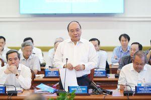 Thủ tướng chủ trì họp Tiểu ban KT-XH với TPHCM và một số địa phương