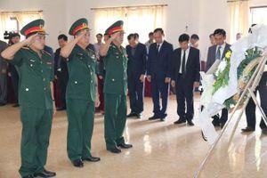 Bàn giao hài cốt liệt sĩ quân tình nguyện, chuyên gia Việt Nam tại Lào
