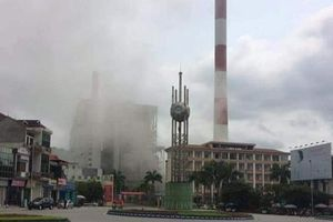 Nhà máy Nhiệt điện Uông Bí chìm trong khói bụi, dân lo ô nhiễm môi trường