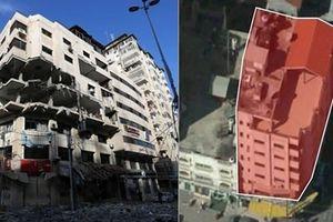 Israel nã bom, phá tan tòa nhà nghi là cơ sở đầu não của các hacker Hamas