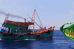 Phát hiện 2 tàu chở lượng dầu lậu 'khủng' trên biển