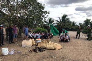 Nổ súng tại trường gà ở Cà Mau: Khởi tố, tạm giam 9 người