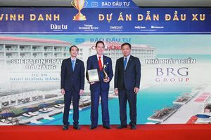 Tổ hợp Sheraton Grand Đà Nẵng Resort được vinh danh 'Dự án nghỉ dưỡng đẳng cấp'