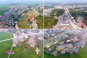 Điện Biên Phủ nhìn từ flycam: Nhà mái đỏ lượn quanh cánh đồng xanh mướt