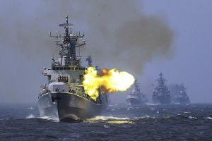 Chiến hạm Mỹ tới Biển Đông, quân đội Trung Quốc 'nổ súng' gần eo biển Đài Loan