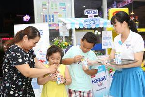 Thêm sự lựa chọn cho người tiêu dùng với sữa nước ít đường của Nestlé