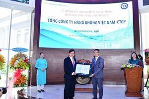 Cổ phiếu Vietnam Airlines gia nhập sàn HoSE
