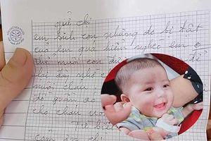 Bé gái 3 tháng tuổi bị mẹ bỏ rơi kèm bức 'tâm thư từ biệt con' ở Nghệ An