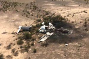 Không một ai sống sót trong vụ rơi máy bay ở Mexico