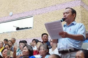 Cử tri đề nghị giải quyết quyền lợi của người dân liên quan đến dự án KĐT mới Thủ Thiêm