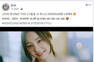 Click xem ngay sản phẩm hợp tác 'Love Is Only You' giữa Erik và Momoland