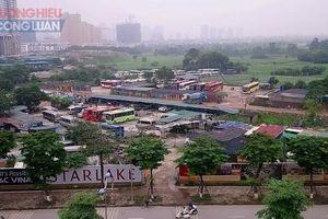 Hàng loạt bãi xe, nhà hàng 'mọc' trái phép trên đất dự án KĐT Starlake