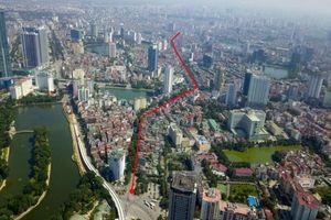 Đề nghị Hà Nội công khai hồ sơ pháp lý 'tuyến đường đắt nhất hành tinh'