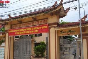 Nghệ An: Bắt tạm giam nhiều cán bộ ban quản lý rừng phòng hộ Yên Thành