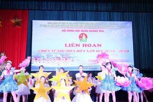 Tuyên dương 31 chiến sĩ nhỏ Điện Biên quận Hoàng Mai