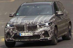 BMW X5 M mới trên đường chạy thử