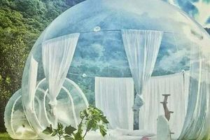 Đến khách sạn bong bóng khổng lồ - Nơi có cả 'nghìn ảnh sống ảo'