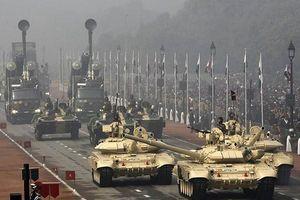 Ấn Độ sẽ triển khai 460 xe tăng T-90 dọc biên giới Pakistan