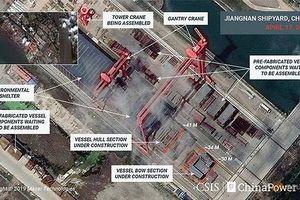 Hé lộ về tàu sân bay cỡ lớn đang được chế tạo của Trung Quốc