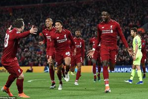 Hủy diệt Barcelona, Liverpool thẳng tiến chung kết Champions League