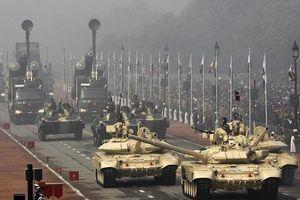 Ấn Độ sẽ triển khai 464 xe tăng T-90 đến biên giới Pakistan