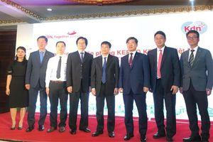 Công ty Điện lực Hàn Quốc tại Hà Nội ký hợp tác với EVNICT
