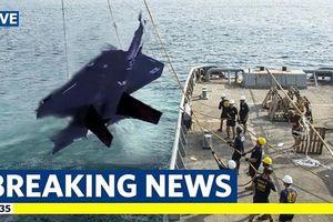 Nhật tìm thấy chiếc F-35 rơi?