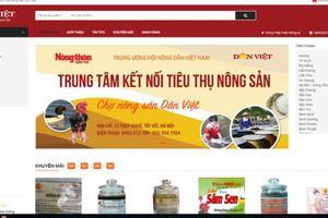 Ra mắt Trung tâm Kết nối tiêu thụ nông sản Báo Nông Thôn Ngày Nay/Chợ Nông sản Dân Việt
